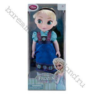 Кукла Эльза в детстве Холодное сердце Дисней