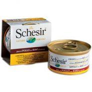 SCHESIR Куриное филе с рисом в с/соку (85 г)