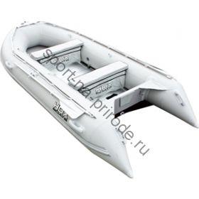 Лодка HDX надувная, модель OXYGEN 370 AL, цвет серый