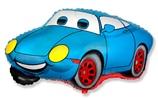 """Гоночная машина синий,32""""/ 81 см"""