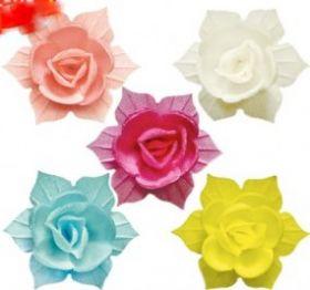 Вафельный цветок НАРЦИСС махровый 5см 5шт/уп