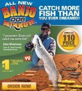 "Рыбки-наживки для рыбалки ""БАНДЖО 006"" (Banjo 006)"