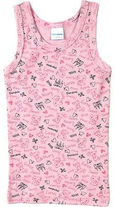 Майка розовая для девочки Алеся