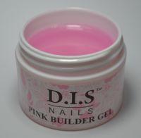 DIS 1-фазный BUILDER PINK (прозрачно-розовый гель), 30 грамм