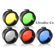 Цветной фильтр Ø45мм для Ultrafire C8 (5 цветов)