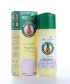 Гель для умывания с ананасом для нормальной и жирной кожи (Bio Pineapple Gel, BIOTIQUE), 120мл