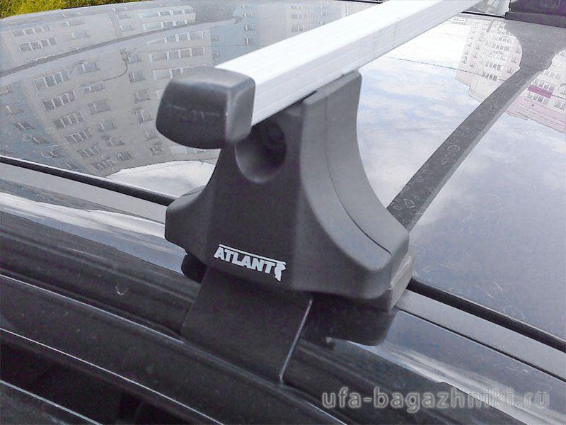 Багажник на крышу ZAZ Sens / ZAZ Chance, Атлант, прямоугольные дуги