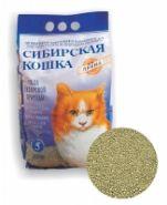 """Сибирская кошка Комкующийся наполнитель """"Прима"""" (5 л)"""