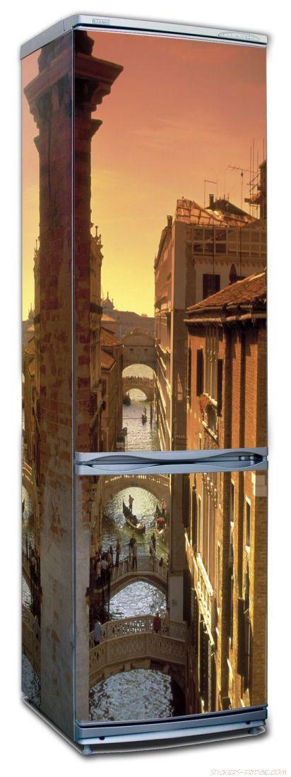 наклейки на холодильник - Венеция 3