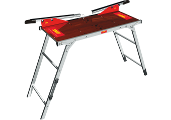 Стол для подготовки лыж с профилями и чехлом