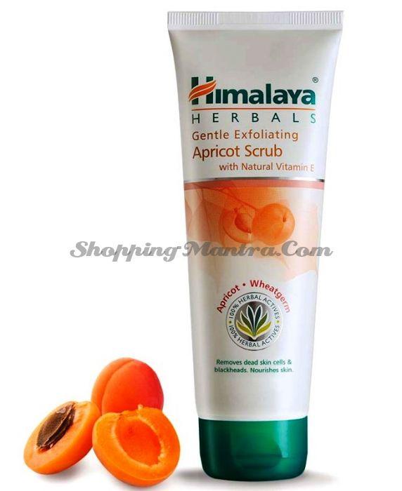 Отшелушивающий скраб для лица Абрикос&Пшеница Хималая / Himalaya Exfoliating Apricot Scrub