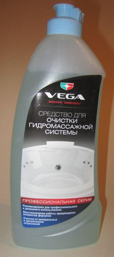 Средство для очистки гидромассажной системы и восстановления форсунок. 500мл. (№4)