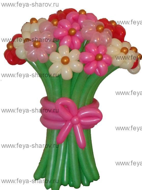 Букет цветов 23 шт
