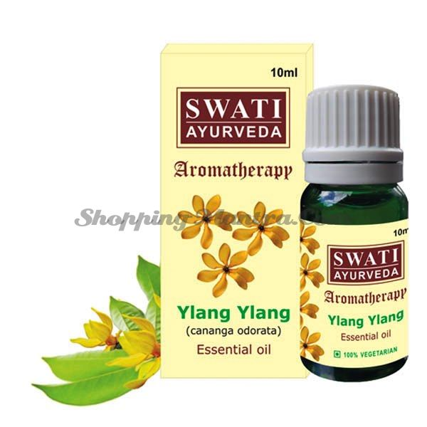 Эфирное масло Иланг-иланг Свати Аюрведа / Swati Ayurveda Yalang Essential Oil
