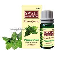 Эфирное масло Мята Свати Аюрведа (Swati Ayurveda Pippermint Essential Oil)