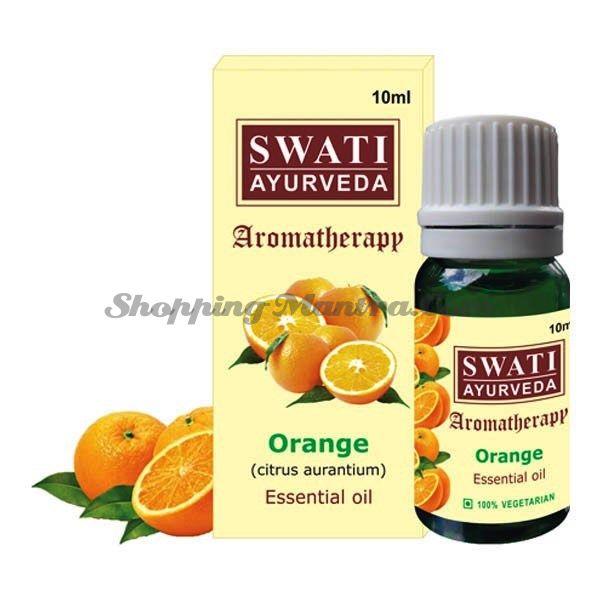 Эфирное масло Апельсин Свати Аюрведа / Swati Ayurveda Orange Essential Oil