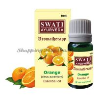 Эфирное масло Апельсин Свати Аюрведа (Swati Ayurveda Orange Essential Oil)