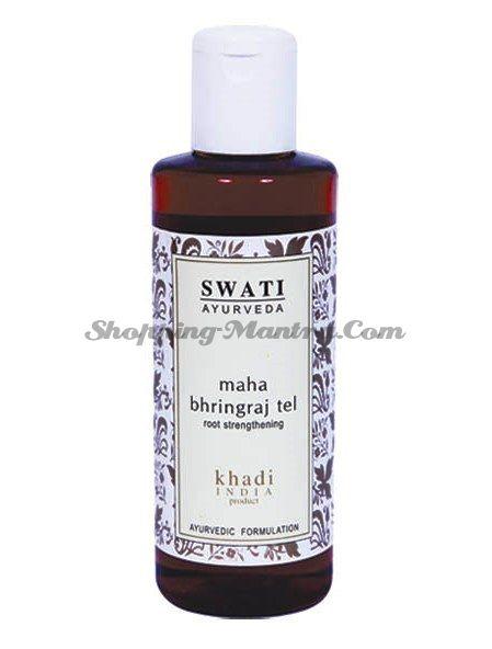Масло для укрепления волос Маха Брингарадж Свати Аюрведа / Swati Maha Bringraj Hair Oil