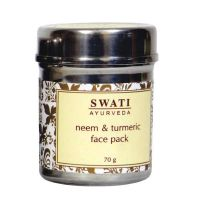 Swati Ayurveda Neem&Turmeric Face Pack