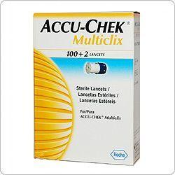 Акку-Чек Мультикликс ( Accu-Chek Multiclix ) Ланцеты