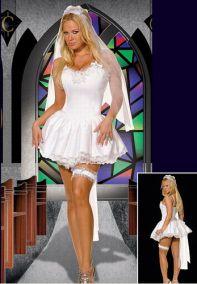 Карнавальный костюм невесты