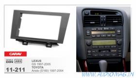 Carav 11-211 (2-DIN LEXUS GS 1997-2005 / TOYOTA Aristo (S160) 1997-2004)