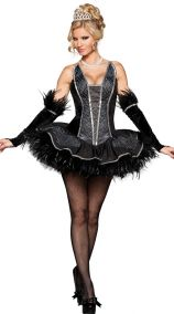Платье черного лебедя