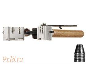 "Пулелейка ручная Lee (США) калибр 9,02 мм - .356"", два гнезда, вес пули 124 гран (8.03 грамма), плоская головная часть"