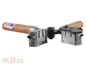 """Пулелейка ручная Lee (США) калибр 9,09 мм - .358"""", два гнезда, вес пули 150 гран (9.7 грамма), оживальная головная часть"""
