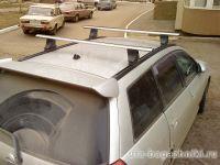 Багажник на крышу Nissan Wingroad, Атлант, аэродинамические дуги