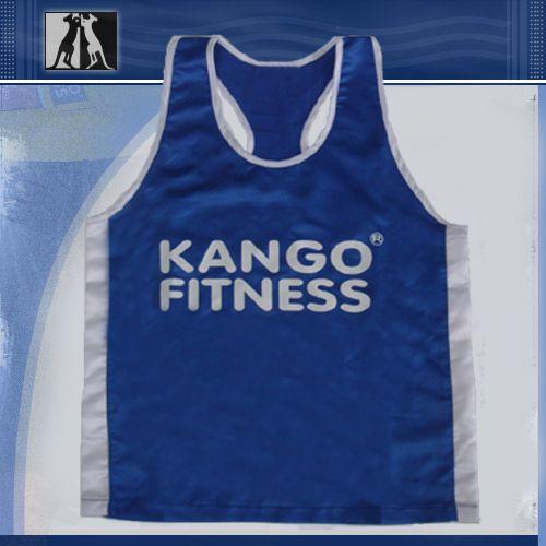Майка боксерская, сине-белая, артикул 68310, размер М, KANGO