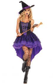 Фиолетовый костюм ведьмы