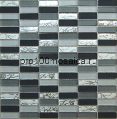 Glamour-1 стекло . Мозаика серия CRYSTAL, размер, мм: 300*300