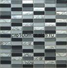 Glamour-1 стекло . Мозаика серия CRYSTAL, вид MIX (СМЕСИ),  размер, мм: 300*300