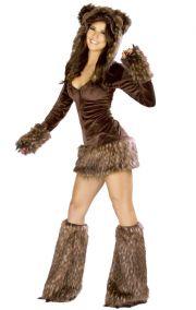Корнавальный костюм бурого мишки