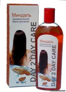 Аюрведическое масло для волос амла Миндаль  для укрепления волос