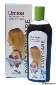 Аюрведическое масло для волос Шикикаи