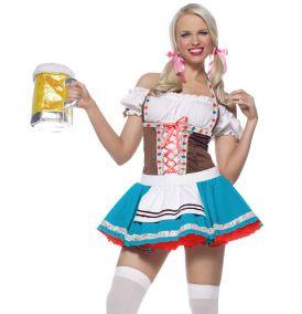 Костюм баварской официантки