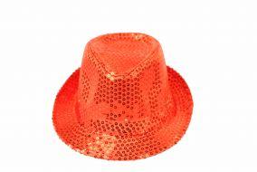 Блестящая шляпа стиляги