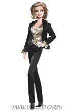 Коллекционная кукла Барби Голдфингер - Goldfinger Barbie doll
