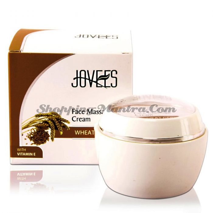 Массажный крем для лица Зародыши пшеницы Джовис / Jovees Wheat Germ Face Massage Cream