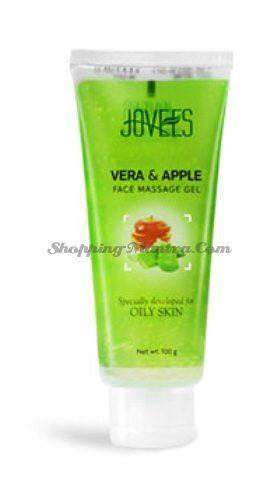 Массажный гель для жирной кожи Яблоко&Алое Джовис / Jovees Apple&Vera Face Massage Gel