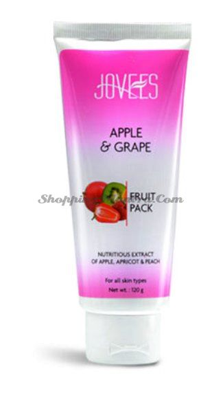 Фруктовая маска для лица Яблоко&Виноград Джовис / Jovees Fruit Facial Pack Apple&Grape