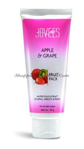 Фруктовая маска для лица Яблоко&Виноград Джовис / Jovees Fruit Facial Pack Apple&Grape