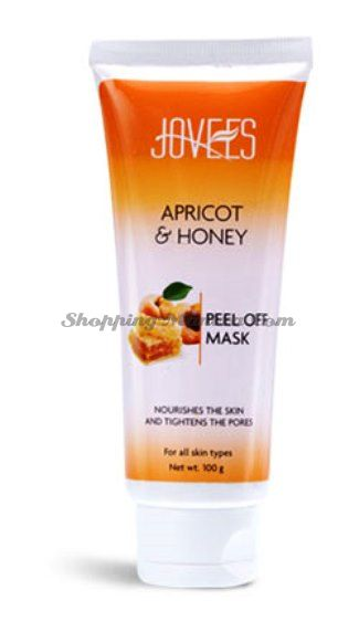 Маска-пленка для лица Абрикос&Мёд Джовис / Jovees Apricot&Honey Peel Off Mask