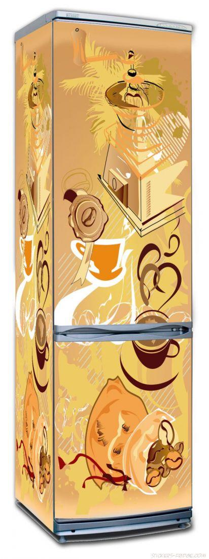 Наклейка на холодильник - Кофе 1. Арабика