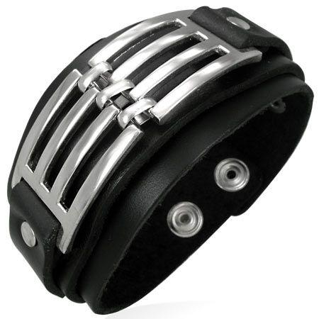 Кожаный браслет BBBF09611