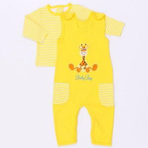 Желтый комплект Жирафик