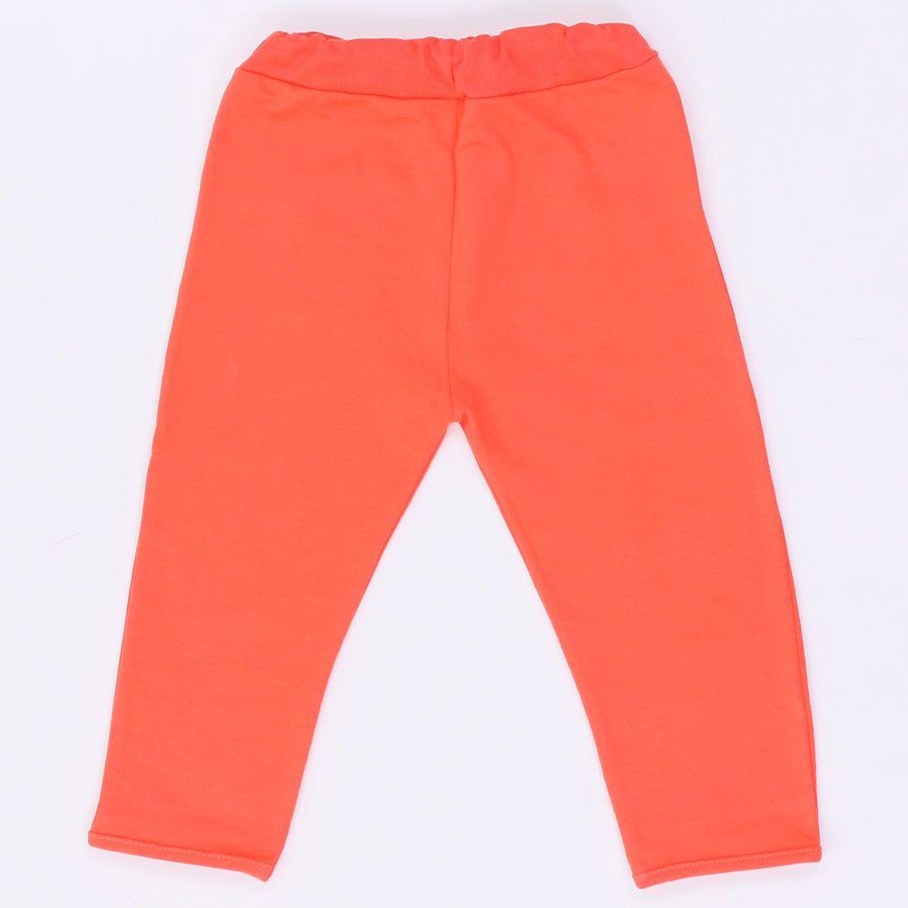 Штаны детские оранжевые