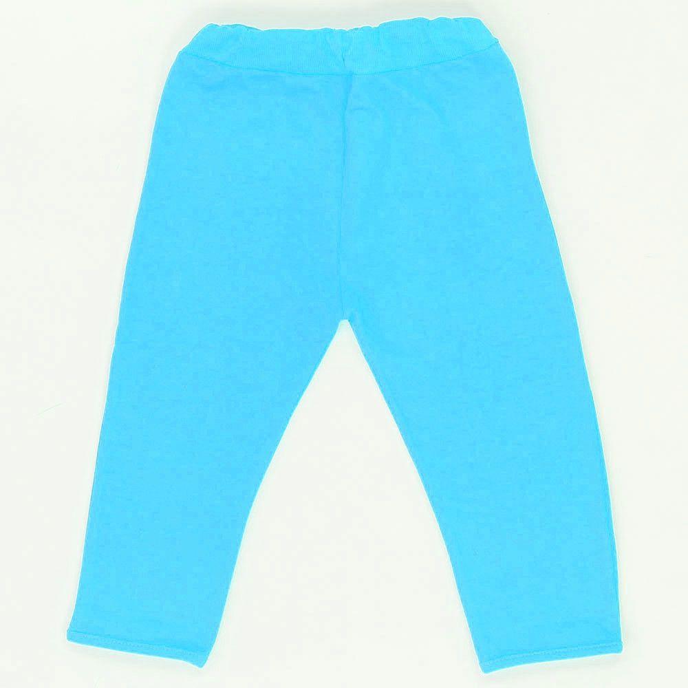 Теплые штаны бирюзовые